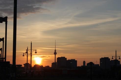 Atardecer en Berlín - Blog de Viaje